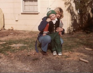 See if you can guess who the cute kid is? Hint: This was taken in 1980.